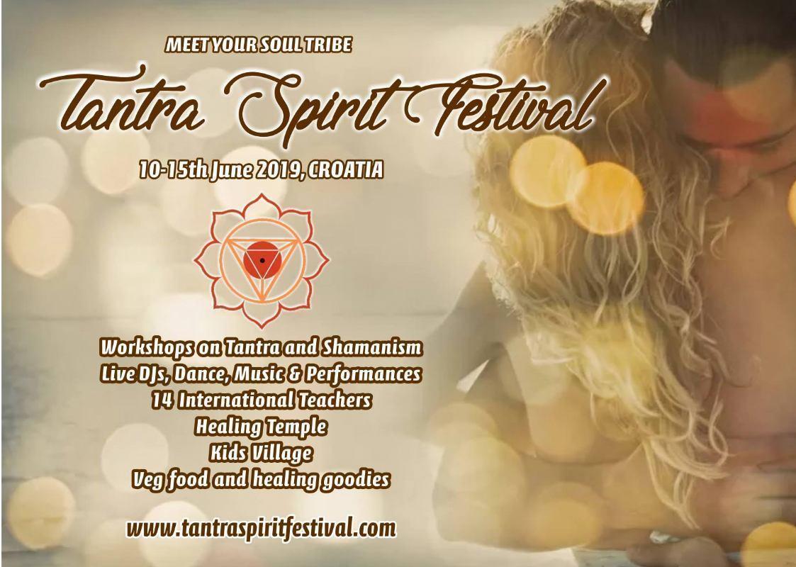 Tantra Spirit Festival 10 - 15 June 2019, Croatia