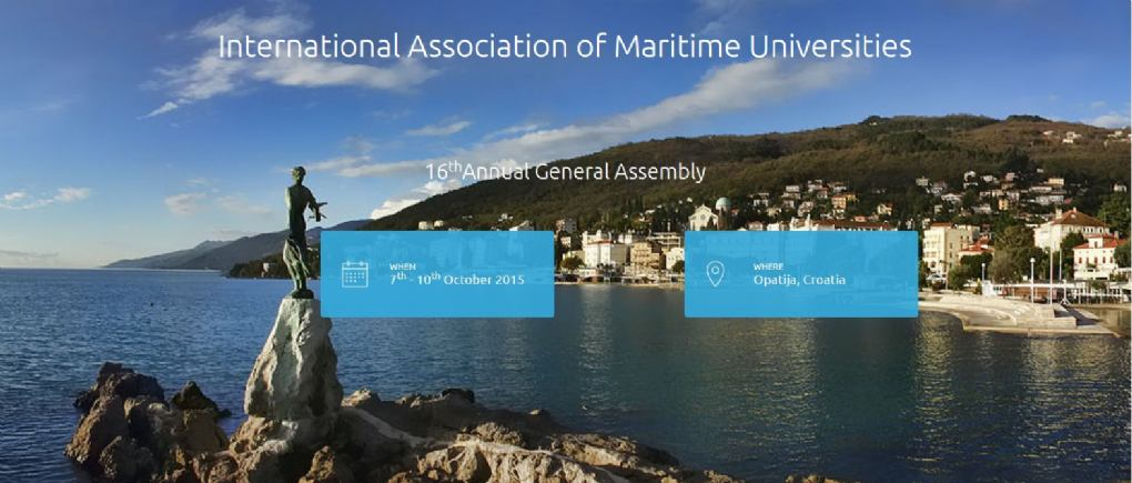 IAMU AGA 2015 -  16th ANNUAL GENERAL ASSEMBLY