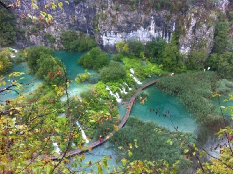Excursion National Park Plitvice Lakes
