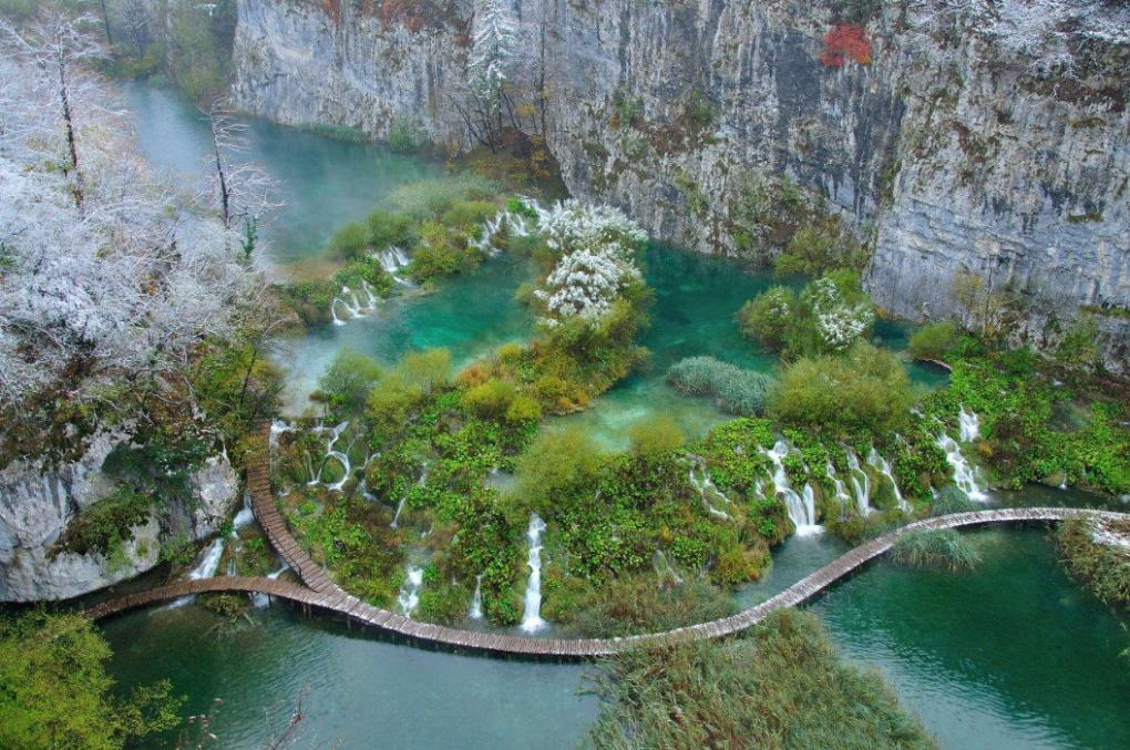 Die Plitvicer Seen
