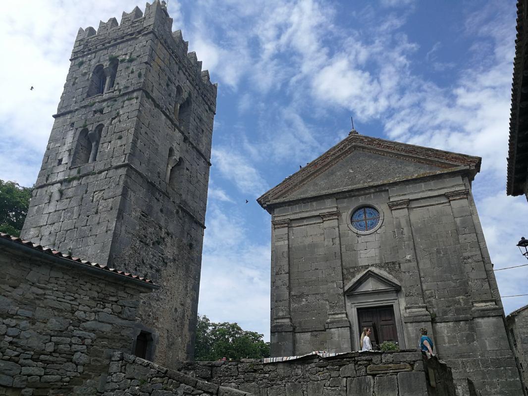 Istrian mediaeval towns