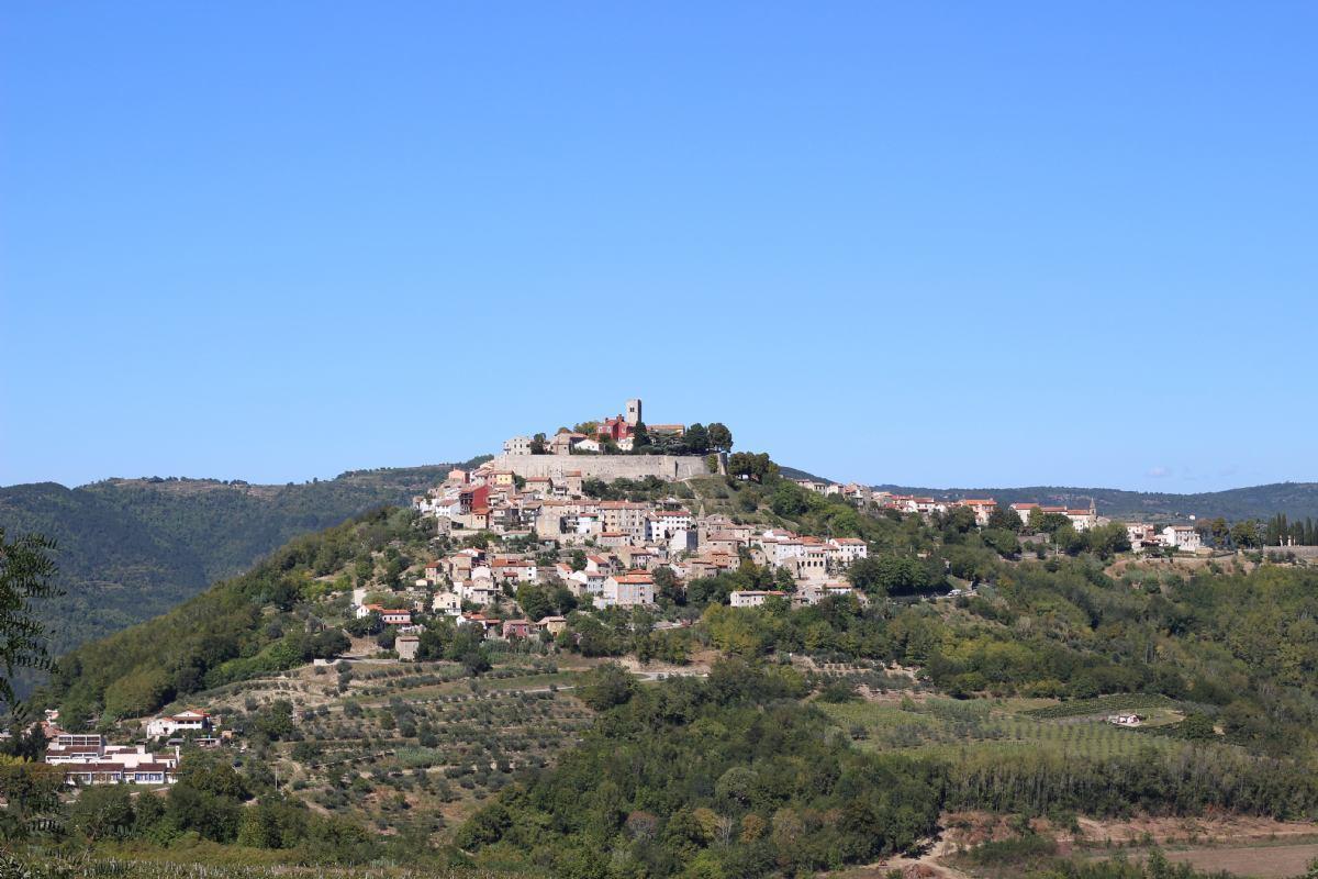 Istrische mittelalterliche Städte